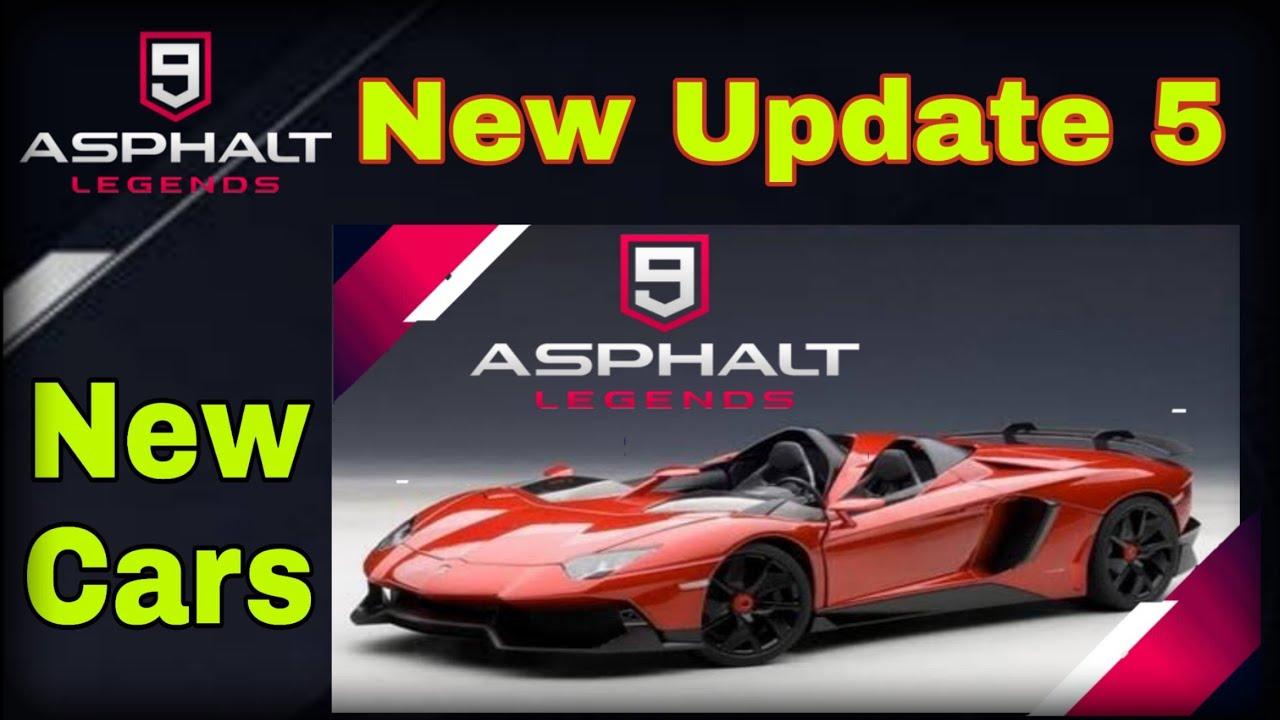 Asphalt 9 Upcoming Update 5 New Car Lamborghini Aventador J