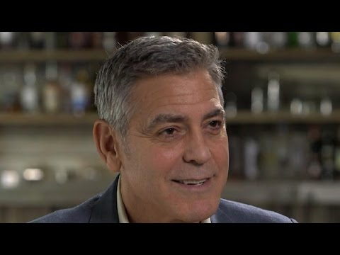 George Clooney Braces For Twins