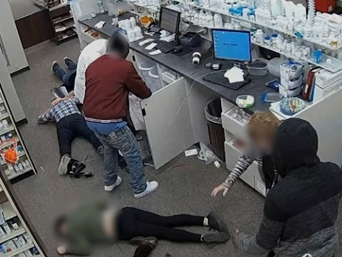 Pharmacists becoming targets of narcotic thieves