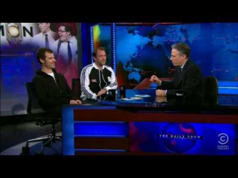 Matt Stone and Trey Parker on The Daily Show