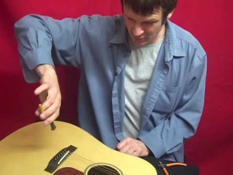 How To Replace An Acoustic Guitar String