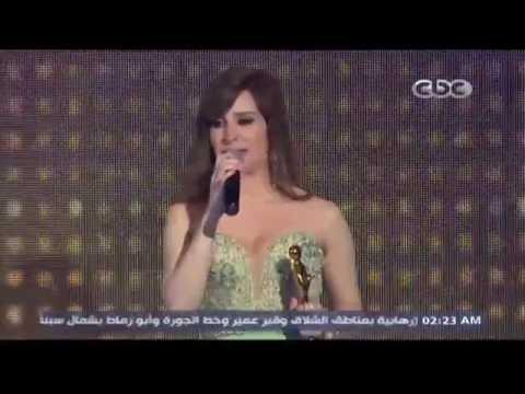 فيديو تكريم كنزة مرسلي في حفل جوائز الميما 2016