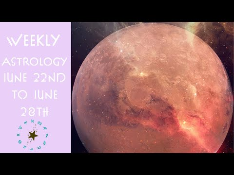 Weekly Astrology Vibes Transits 6/22-28 | Neptune Retrograde 2020 | Venus RX Direct | Mars in Aries from YouTube · Duration:  21 minutes 16 seconds