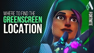 HIDDEN *GREEN SCREEN* Location | Fortnite Battle Royale