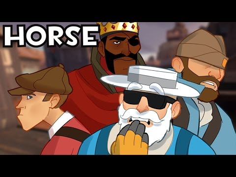 TF2 H-O-R-S-E #6 Least Played Class (w/ Uncle Dane, ScottJAw, and King Raja)