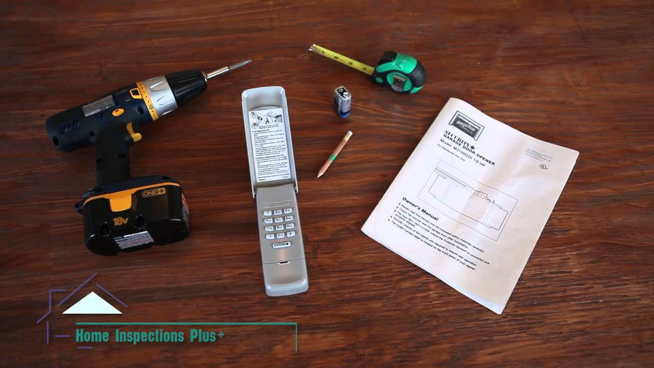 Delightful DIY Tip #28 Installing A Remote Keypad Garage Door   YouTube