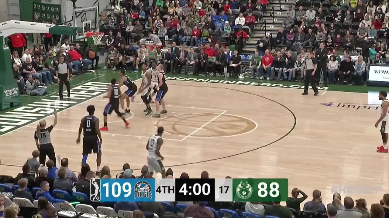 Brandon Jennings (17 points) Highlights vs. Lakeland Magic #1