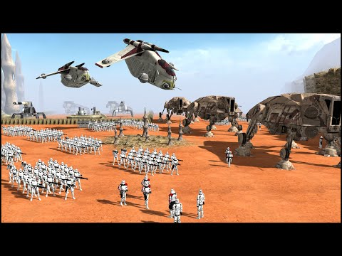 CLONE TASK FORCE – Star Wars: Galaxy at War Mod Gameplay