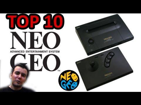 TOP 10 Neo Geo (Mejores Juegos) || TOP 10 NeoGeo Best Games || En español HD