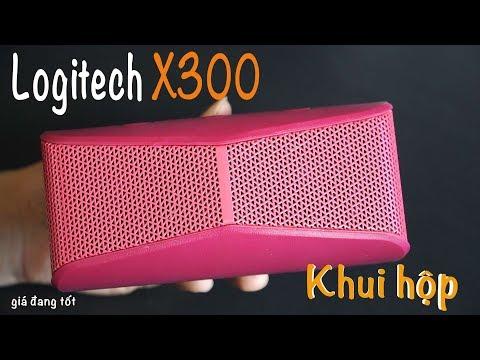 Khui Hộp Loa Logitech X300: Giá đang Tốt, Thiết Kế đẹp, âm Thanh Lớn | Xuân Vũ Audio