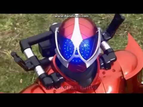 Kamen Rider Accel Henshin