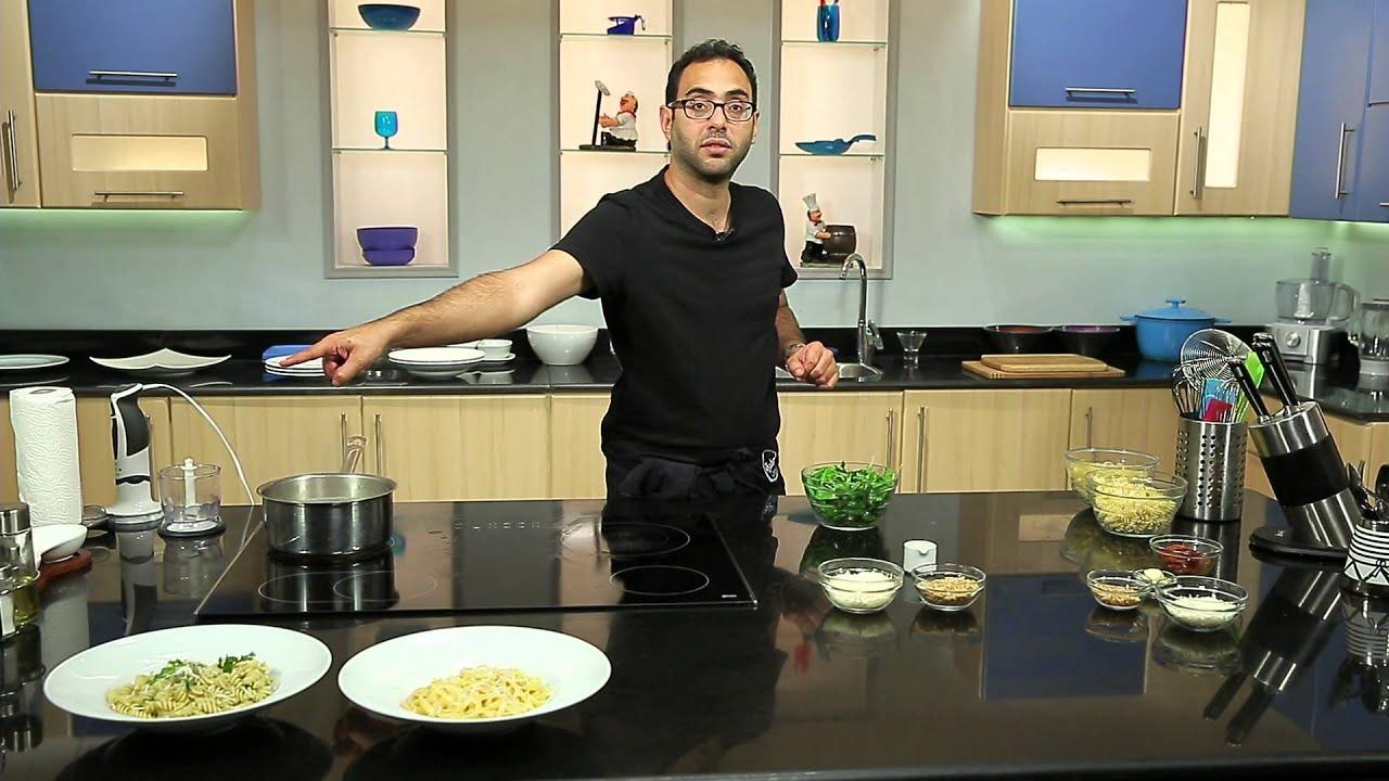 فيتوتشينى الفريدو و تشيز صوص - صوص انشوجة بالزيتون : مطبخ 101 حلقة كاملة