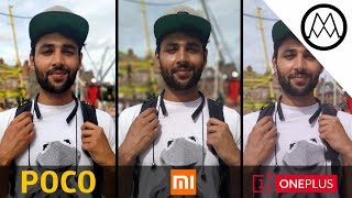 Xiaomi Pocophone F1 vs Mi A2 vs OnePlus 6 Camera Test Comparison