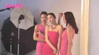Wanna B, 이너비! 워너비 모델들의 광고 촬영 현…