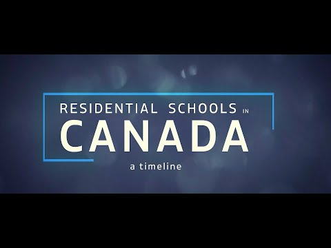 Residential Schools in Canada: A Timeline