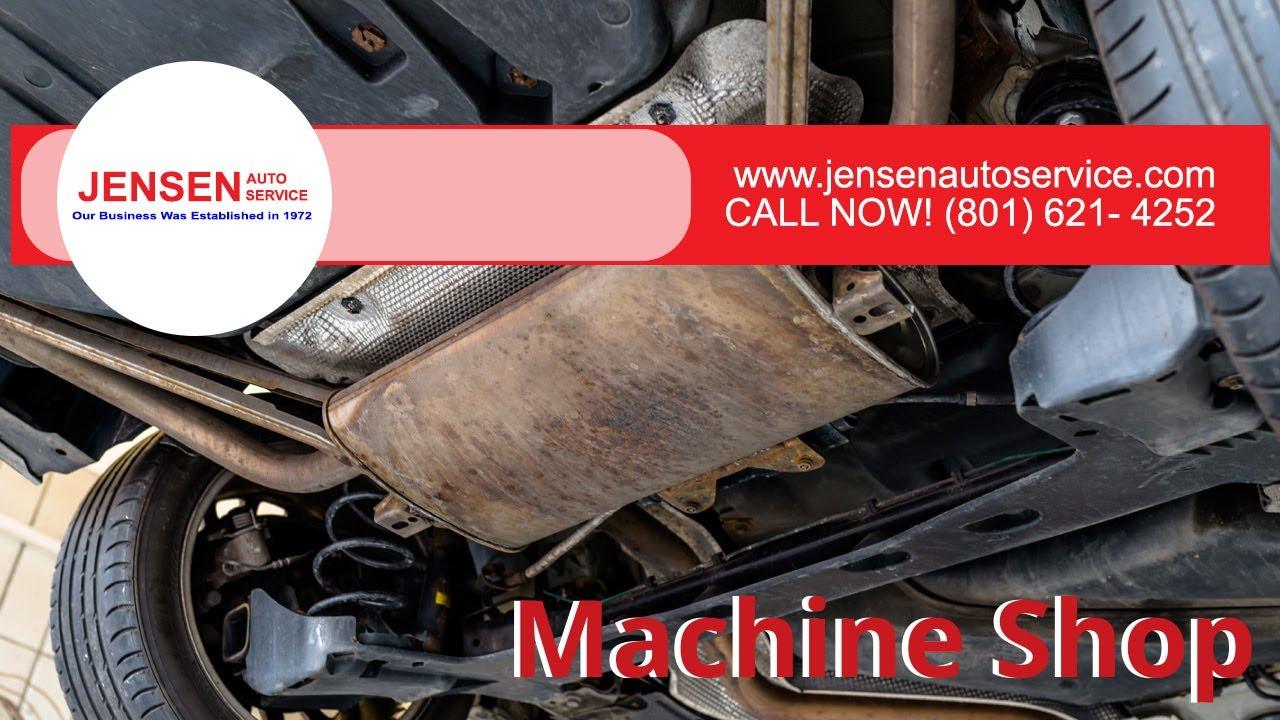 Machine Shop Near Me Call Us 801 621 4252 Jensen Auto Service Ogden Ut Youtube