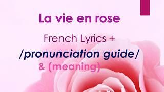[Easy Lyrics] La vie en rose (Edith Piaf)