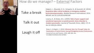 Critical Incident Stress for Paramedics Part 2 of 3