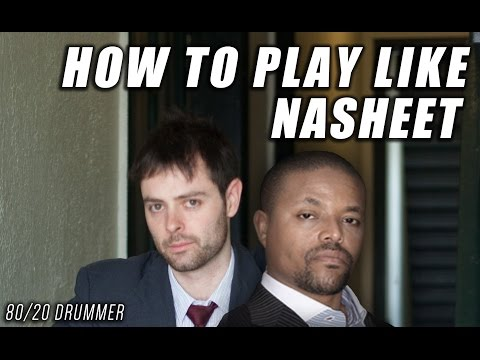 """How to Play """"Like"""" Nasheet Waits - The 80/20 Drummer"""