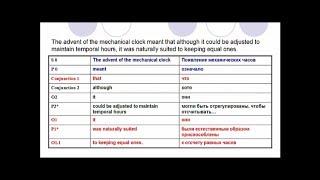 2. Сложное повествовательное предложение в английском. Порядок членов предложения. Формула SPOM