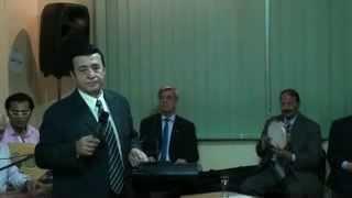 على رمش عيونها - غناء الفنان اركان فؤاد - صالون المنارة 7/5/2014
