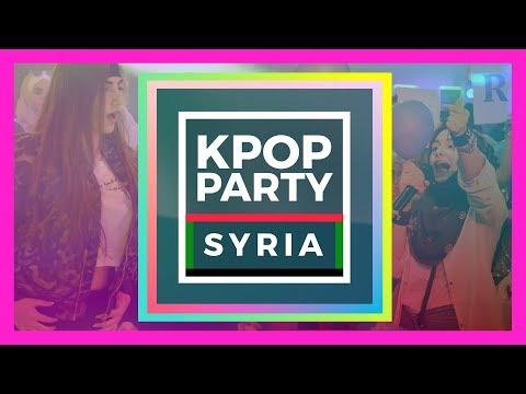KPOP PARTY SYRIA حفل كي بوب بسوريا