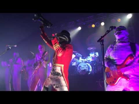 Here Come The Mummies- Intro and Carnal Carnival (George's Majestic Lounge Fayetteville AR 10.2