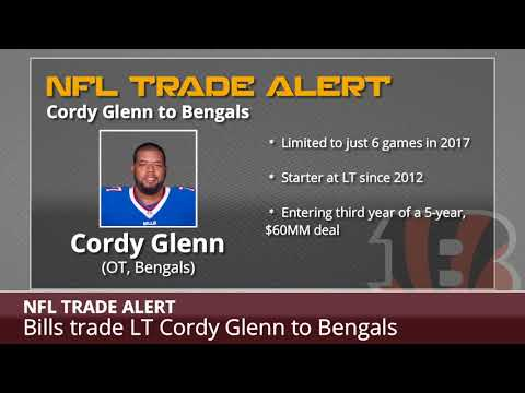BREAKING: Bills Trade Cordy Glenn To Bengals - Details And Analysis