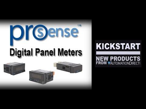 ProSense Digital Panel Meters - Process Control KickStart