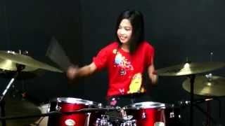 Avenged Sevenfold - Carry On (Call Of Duty) Drum Cover By Nur Amira Syahira