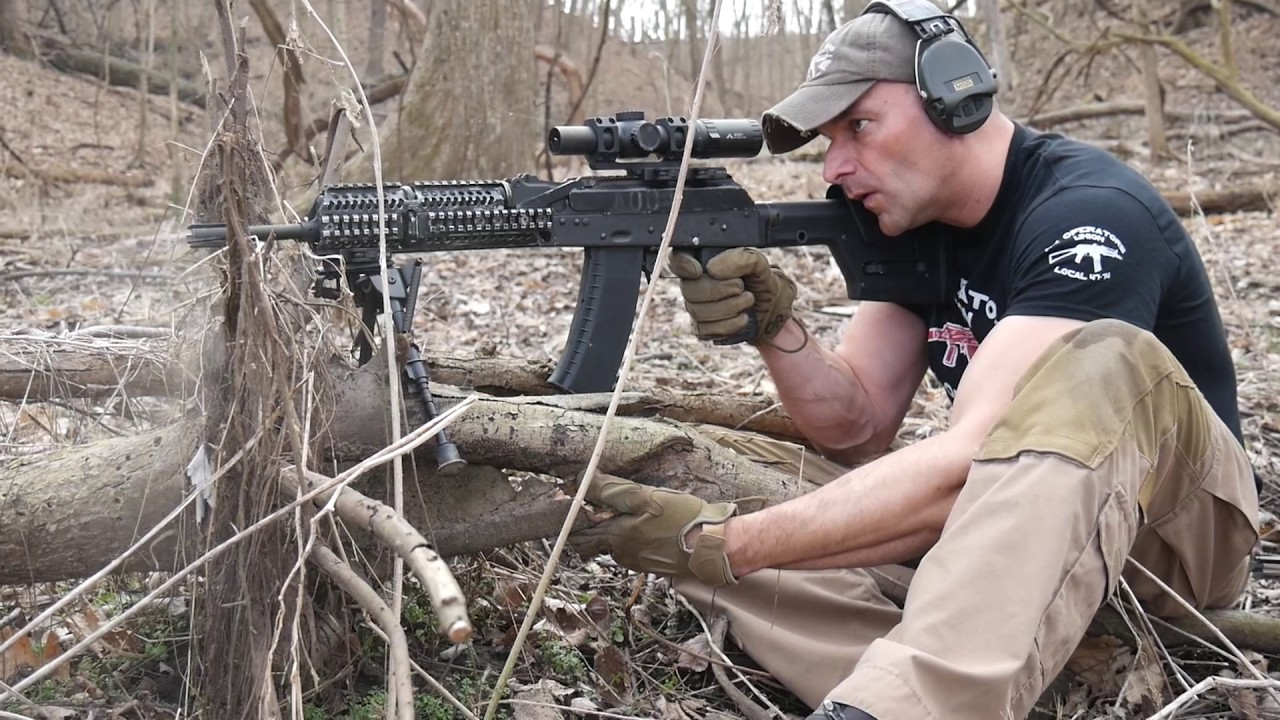 AK74 and AR15 at extended ranges - short video for Friday....;-)