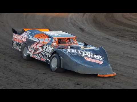 A night of racing under the lights at Farmer City Raceway, Farmer City, Illinois. The night started on July 22, 2016 and went into the morning of July 23, 2016. - dirt track racing video image