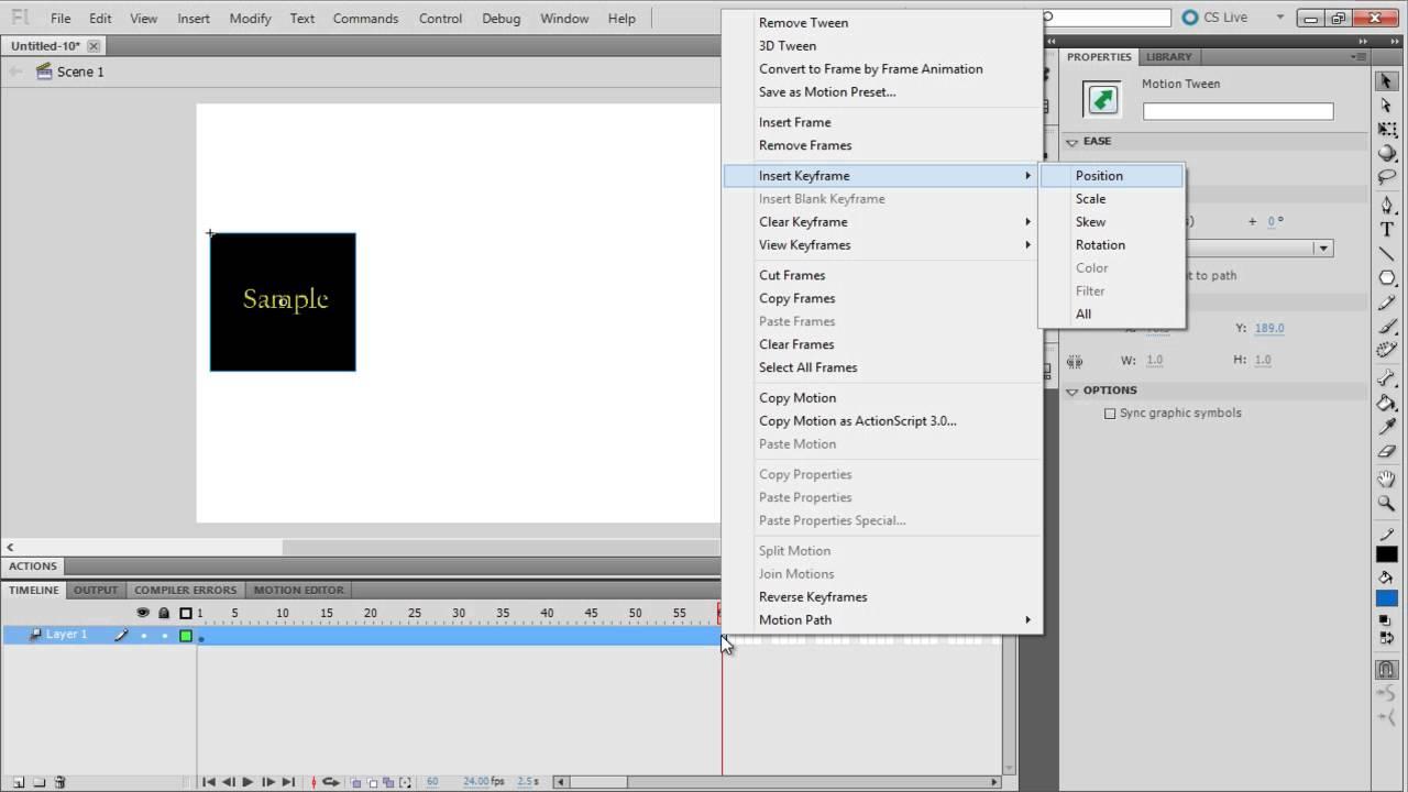 Adobe Flash Cs5 Tutorials Pdf