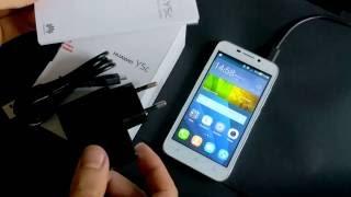 Смартфон Huawei Y5C обзор