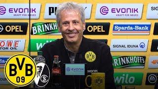 2:0 - Reus und Alcácer sichern Sieg | PK mit Lucien Favre | BVB - SC Freiburg