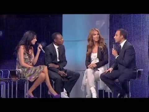 Interview Céline Dion, Nolwenn Leroy, MC Solaar (2007)