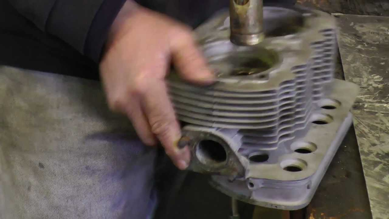 Classic VW BuGs How to Install New Valve Guides in Beetle Ghia Bus Motor  Heads