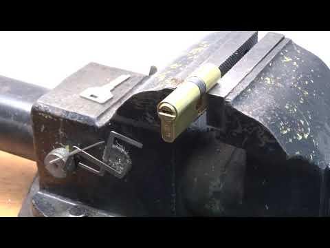 Самоимпрессия EZCURRA DS15  вскрытие замка эскурра Ezcurra DS15