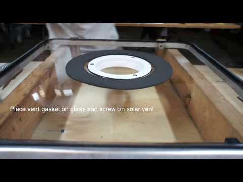 Solar Vent Install