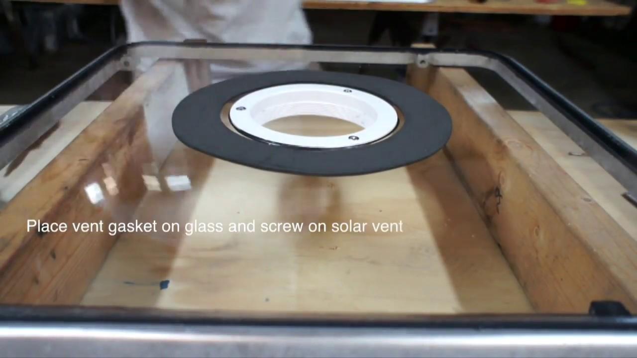 nicro 3 inch solar vent