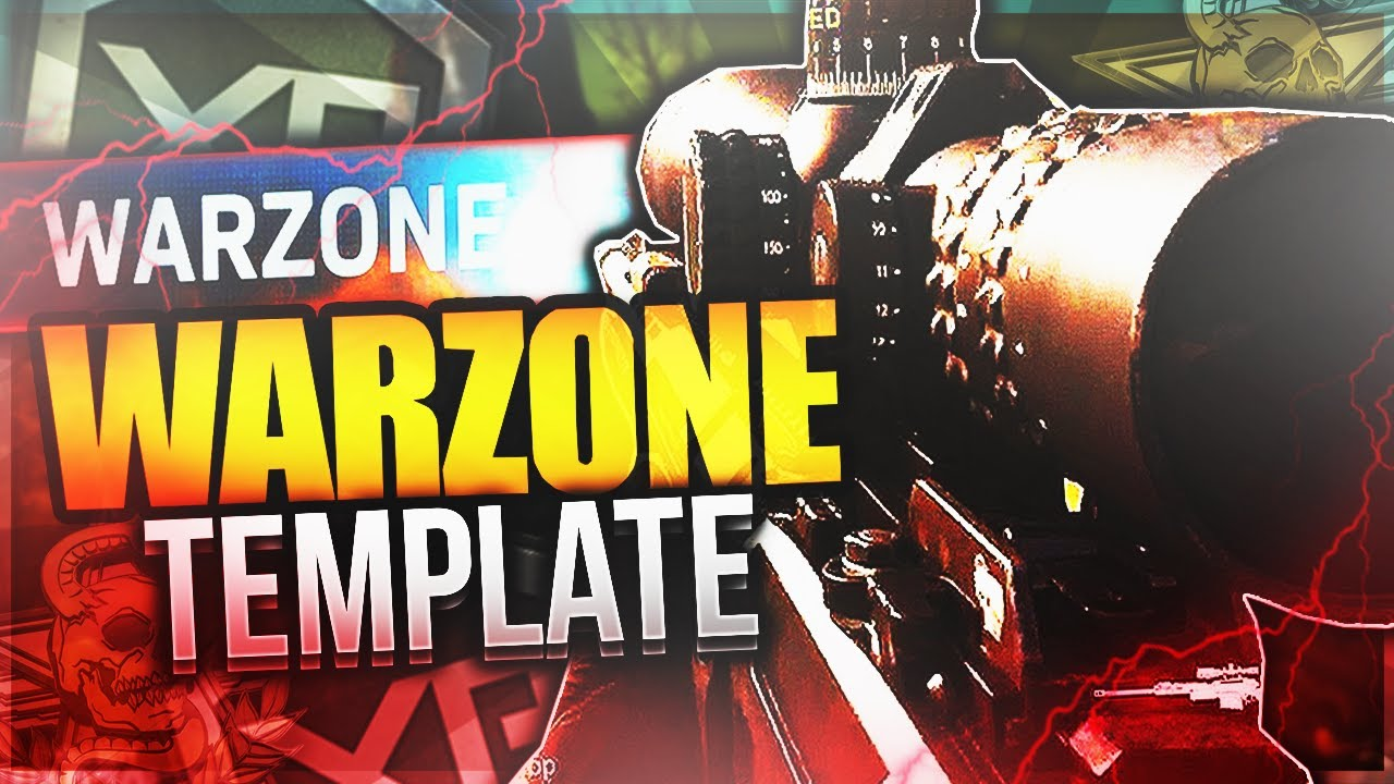 Cod Mw Warzone Victory Thumbnail Template Psd Youtube