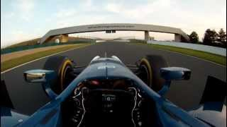 Driver Point of View GP2 Testing at Magny Cours