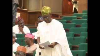 Hon Akintola Taiwo, 2 Nov 2016   Bill amendment on the Federal Highways Act,LFN,2004