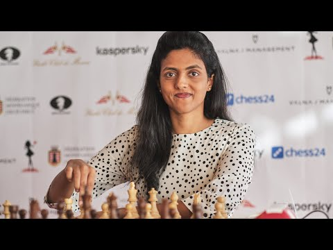 Interview with Harika Dronavalli | 2019 FIDE Women's Grand Prix - Monaco | Round 6 |