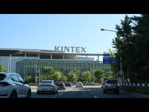 Driving Downtown Korea - Ilsan New Town, Goyang-si, South Korea | 일산 신도시 도심 드라이브