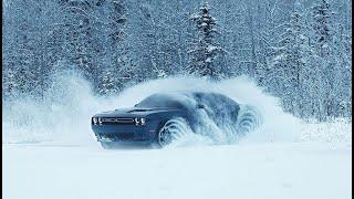 """Muscle Cars"" для зимы!  Dodge Challenger GT AWD."