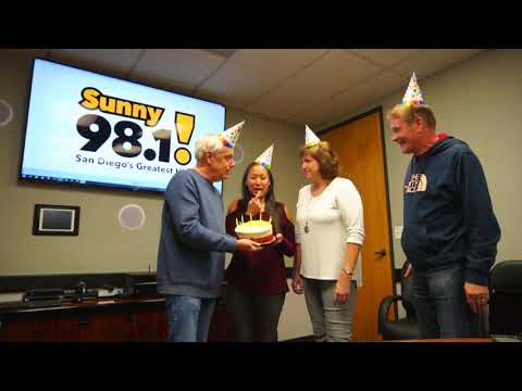 Happy Birthday To You, from Sunny 98.1!