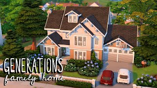 Generations Family Home 🏡 // Sims 4 Speed Build