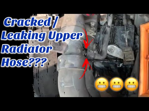 How to Replace Upper Radiator Hose Ford Fusion Mercury Milan 3.0 2006-2009