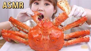 ASMR|3.1kg 킹크랩 먹방~킹크랩 ASMR!! King crab mukbang~ Eating show! 대게 먹방